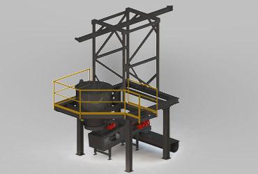 Unterstützungskonstruktion Leichter Stahlbau